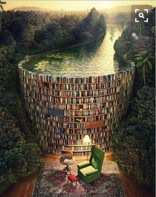 book-and-lake